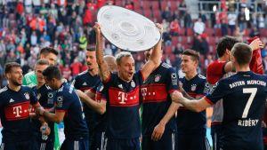 Bayern München voitti mestaruuden.