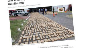 Kuvakaappaus sanomalehti Clarínin artikkelista