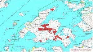 Rönnskäretin kartta