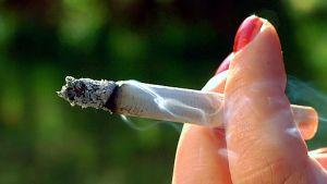 Tupakka käryää.