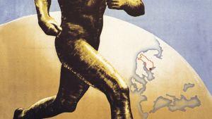 Helsingin kisojen 1952 juliste.