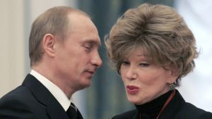 Ljudmila Gurtšenko ja Vladimir Putin.