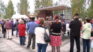 Nurmeksen elokuvajuhlien avajaiset vuonna 2010.