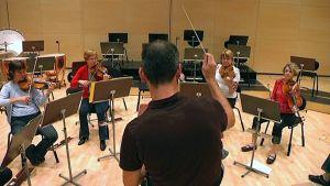Lappeenrannan kaupunginorkesterin harjoitukset