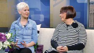 Johanna Harjunpää ja Eila Tiainen