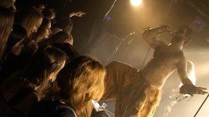 Faanefjell-yhtye esiintymässä.
