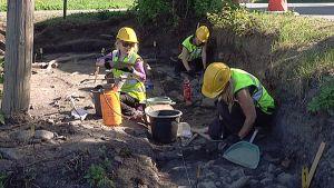 Pirkkalan arkeologiset kaivaukset