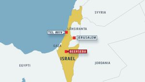 Israelin kartta.