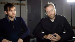 Aaron Dessner (vas.) ja Matt Berninger