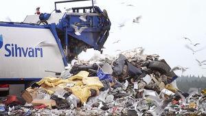 Ämmässuon kaatopaikka Espoossa.