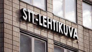 STT-Lehtikuvan toimisto Helsingin Voimatalossa.