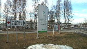Sairaala-kyltti