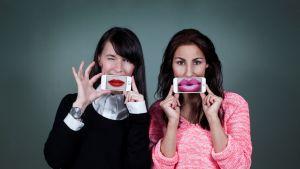 SNAKKin voimakaksikko Linn Jung ja Nadia Boussir.