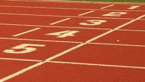 Juoksurata Porin stadion