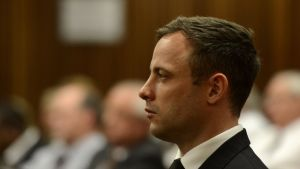 Oscar Pistorius oikeudessa.