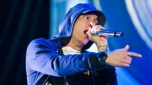 Eminem esiintymässä Austin City Limits -festivaaleilla Austinissa, Teksasissa 2014.