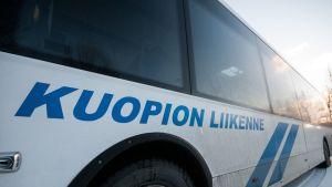 Kuopion Liikenteen linja-auto.