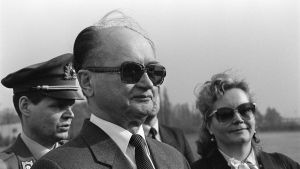 Puolan presidentti Wojciech Jaruzelski.