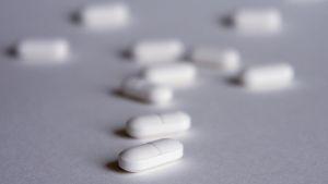 Lääkepillereitä.