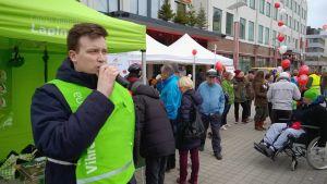 Miikka Keränen, vihreiden eduskuntavaaliehdokas