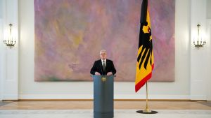 Saksan presidentti Joachim Gauck tammikuussa 2015.