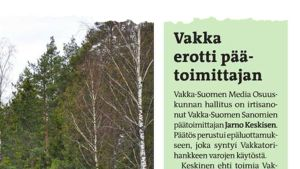 Vakka-Suomen Sanomat.