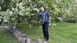 Seung-jae Kim haluaa koskettaa tunteita laulullaan.