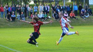 PS Kemi vastaan PK-35 Kemin Sauvosaaren kentällä heinäkuussa 2015.