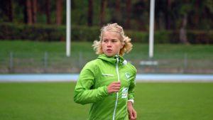 Juoksija Alisa Vainio.