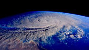 Syklooni Chapala Arabianmeren yllä 31. lokakuuta.
