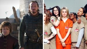 Game of Thrones ja Orange Is the New Black ovat yhdet tunnetummista alkuperäissarjoista.