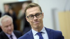 Valtiovarainministeri Alexander Stubb.