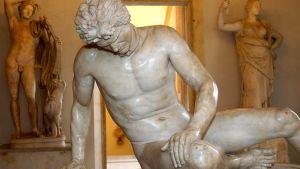 patsas, kuoleva gladiaattori