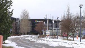 Microsoftin tehdas Salossa.