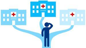 Potilas voi valita minkä tahansa julkisen terveyskeskuksen.