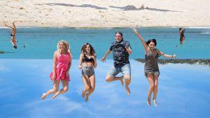 Isabella, Susa, Juho ja Henrietta etsivät unelmiaan Australiassa.