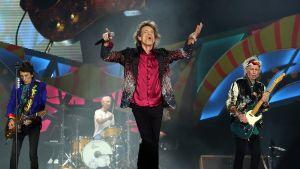 Rolling Stones esiintyy ilmaisessa konsertissa Havannassa, Kuubassa 25. maaliskuuta.
