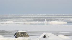 Talvinen kuva Merenkurkusta.