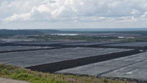 Talvivaaran kaivos Sotkamossa heinäkuussa 2014.