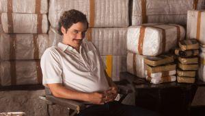 Narcos-sarjan Pablo Escobar (Wagner Moura)