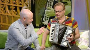 Niko Kumpuvaara ja Iiro Rantala.