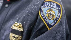 New Yorkin poliisin hihamerkki