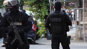Poliiseja Nizzassa 16. heinäkuuta.