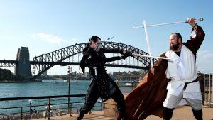 Star Wars -faneja Sydneyssa joulukuussa 2015.