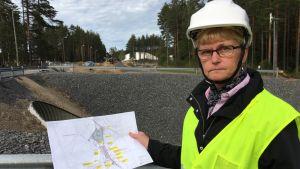 Yhdyskuntatekniikan päällikkö Maini Väisänen Mikkelin kaupungilta.
