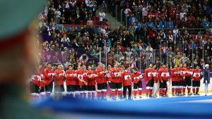 Kanada voitti olympiakultaa Sochin talvikisojen jääkiekkoturnauksessa.