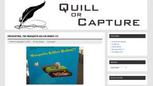 Kuvakaappaus quillorcapture.com-sivustolta aiheesta.