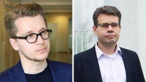 Sakari Melander ja Juha Lavapuro.