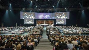 Nordic Busines Forumin järjestelyt ovat huippuluokkaa.