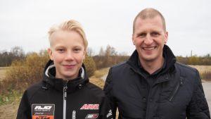 Patrik Pulkkinen ja Aki Ajo.